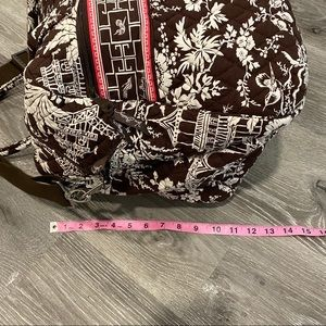 Vera Bradley Bags - Vera Bradley Brown and Pink Paisley Duffle Bag